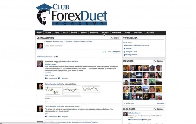 ForexDuet Academy: Clase virtual real